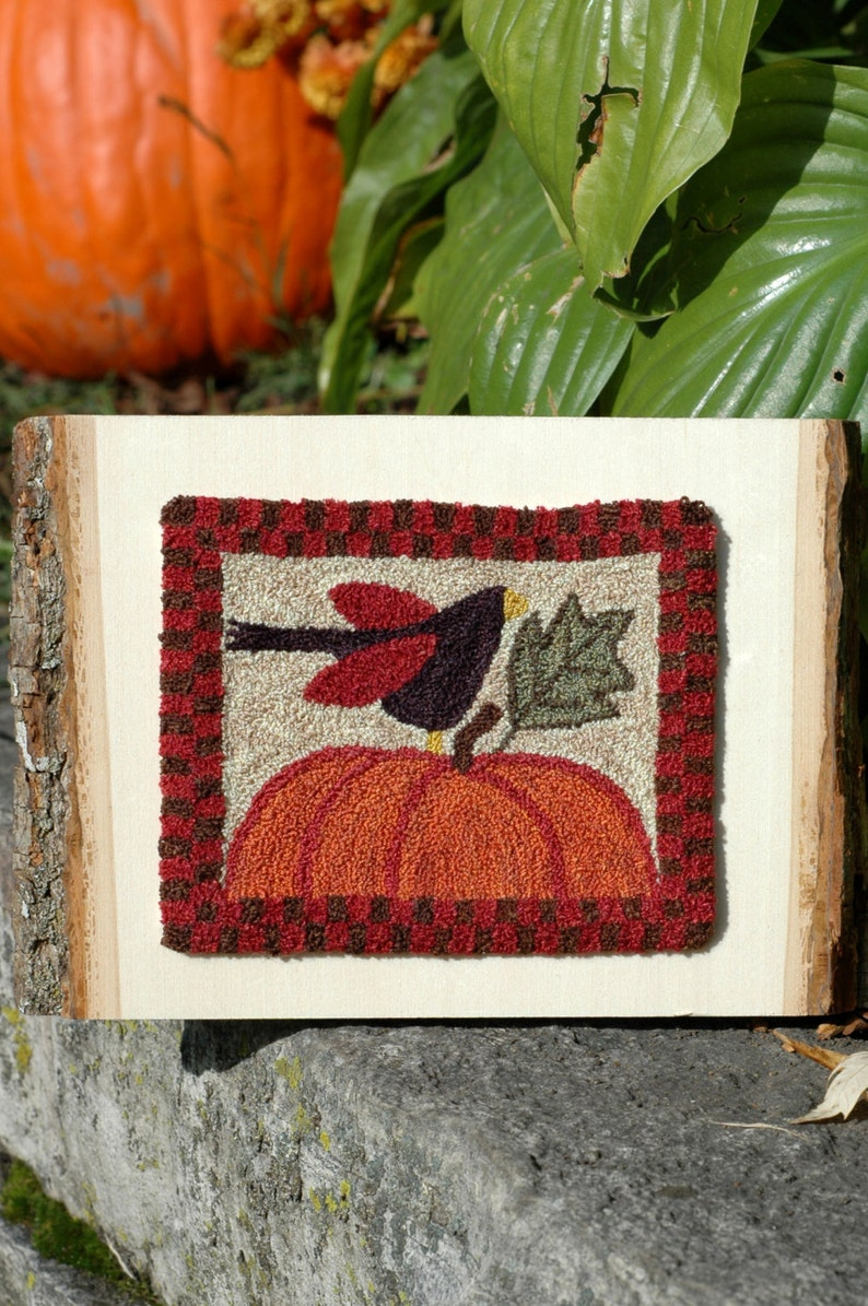 Crowing About Fall Punch Needle Kit image 0
