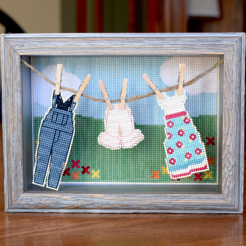 Oh You Pretty Things : Well Loved Wear Cross Stitch Pattern image 0