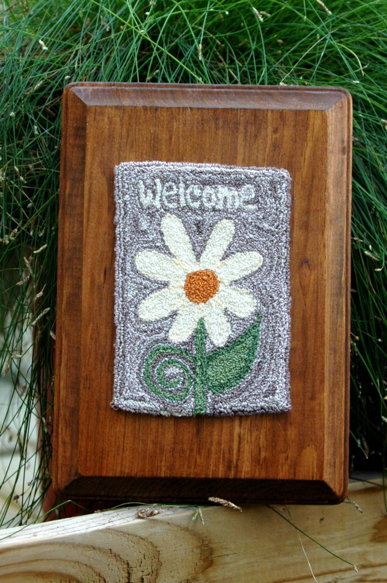 Welcome Spring Punch Needle Kit image 0