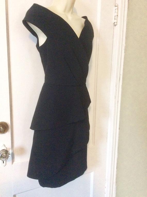 Arnold Scaasi Little-Black-Dress - Off-Shoulder 1… - image 6