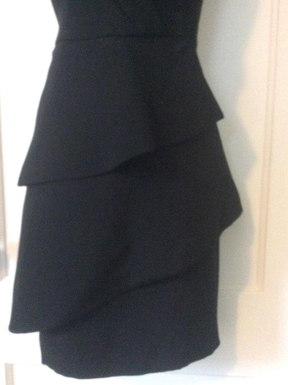 Arnold Scaasi Little-Black-Dress - Off-Shoulder 1… - image 4