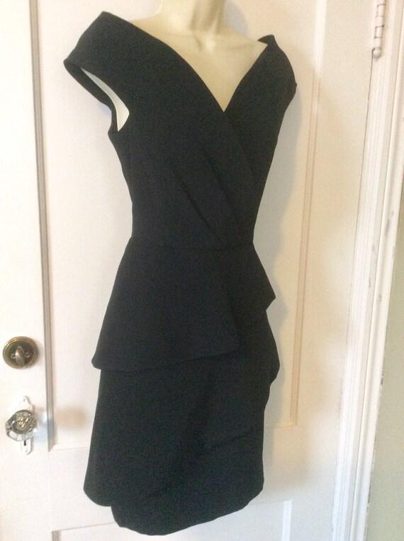 Arnold Scaasi Little-Black-Dress - Off-Shoulder 1… - image 7