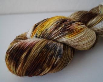 Day 6: Polar Express on Twist Sock – Hand Dyed Yarn