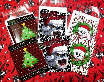 Spooky X-mas Greeting Cards