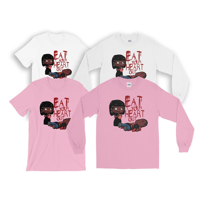 Eat Your Heart Out Valentines Day Long Sleeve Short Sleeve image 0