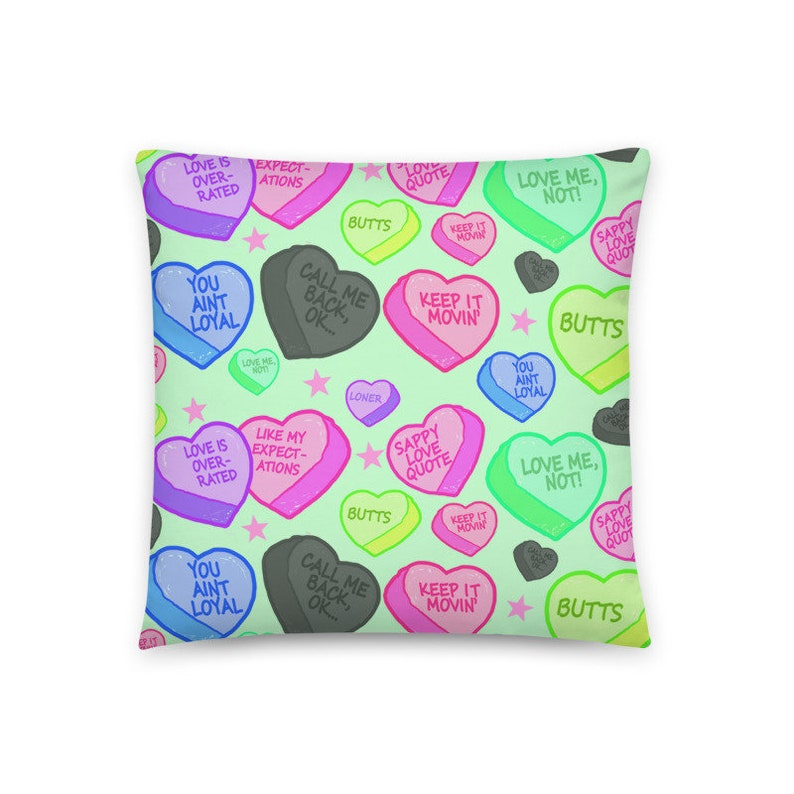 Decorative Pillow Valentines Hearts Pillow Alternative Home image 0