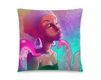 Tentacles Minky Pillow