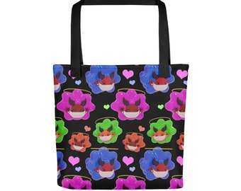 Afro Mask Up Tote Bag