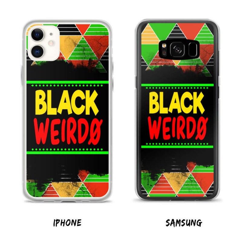 Black Weirdo Phone Case image 0