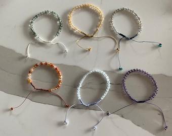 Mini crystal bracelets