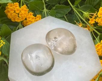 Smoky Quartz Palm Stones