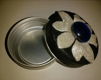 Flower Tin