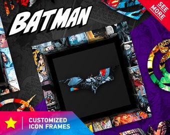 Batman Gift DC Comics Art Print Idea Birthday Present Wall Home Decor Super Hero Theme The Dark Knight Gotham
