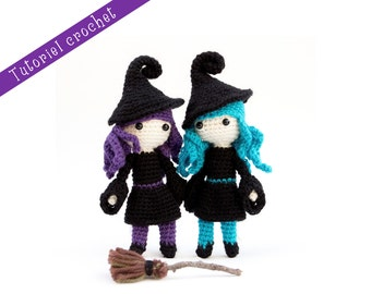 Crochet Pattern: Witch doll