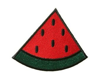 Watermelon Fruit DIY Applique Iron on Patch
