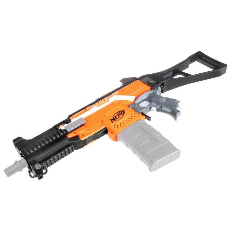 Worker Mod F10555 for Nerf Stryfe DIY Imitation UMP9 Style Combo 9 Item Modify Toy