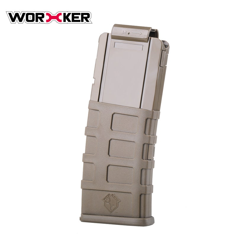 Worker Banana Style 12 Darts Magazines Clip for Nerf Modifiy Toy