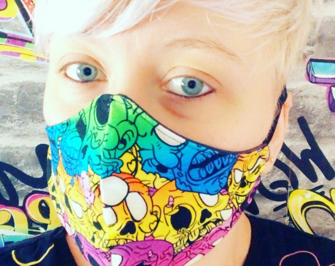 Face Mask - Adult - Youth - Child (100% cotton Fabric)