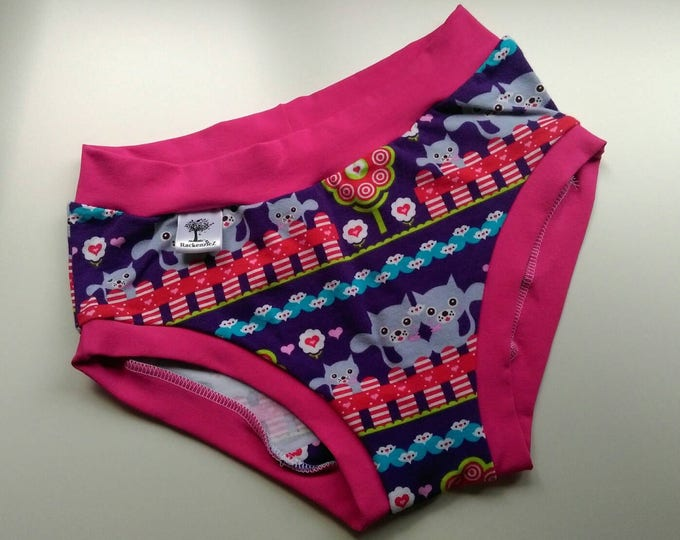 11-12 year old brief style underwear. Made by RackenzieZ