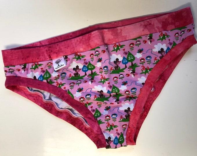 Extra extra large cheekies style underwear. Made by RackenzieZ