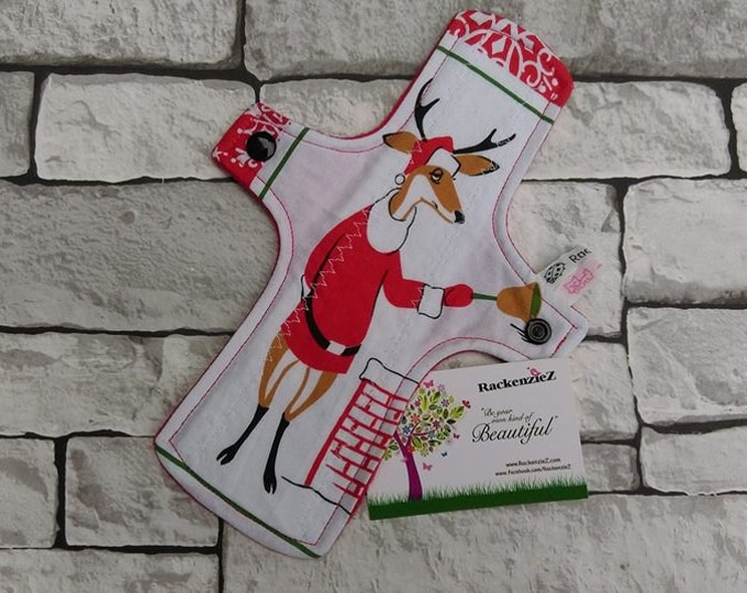 "9"" Light Reindeer CSP (Cloth Sanitary Pad)"