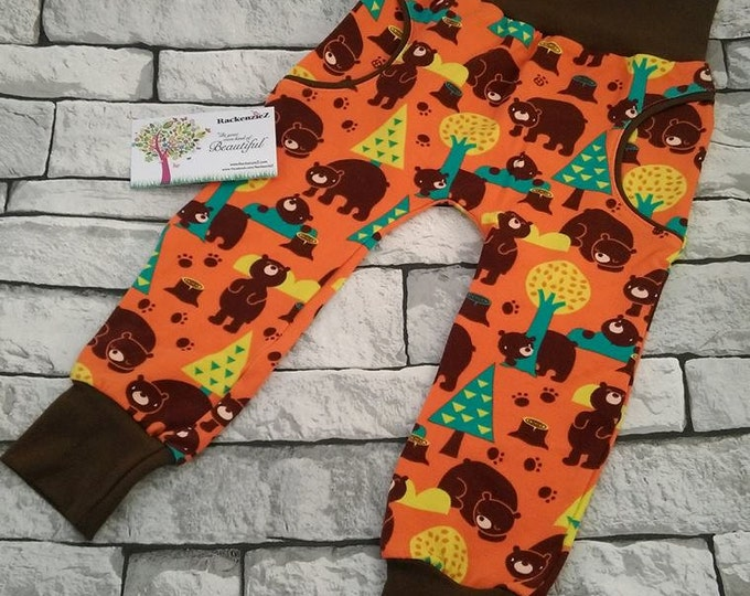 12-18 months fake pocket bear trousers