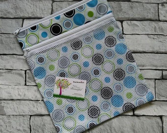 Blue Spots Wet Bag