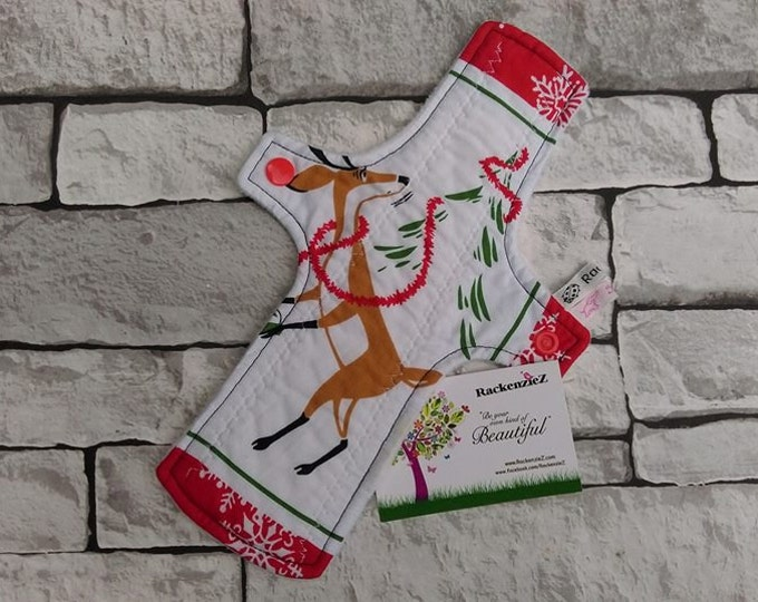 "10"" Heavy Reindeer CSP (Cloth Sanitary Pad)"