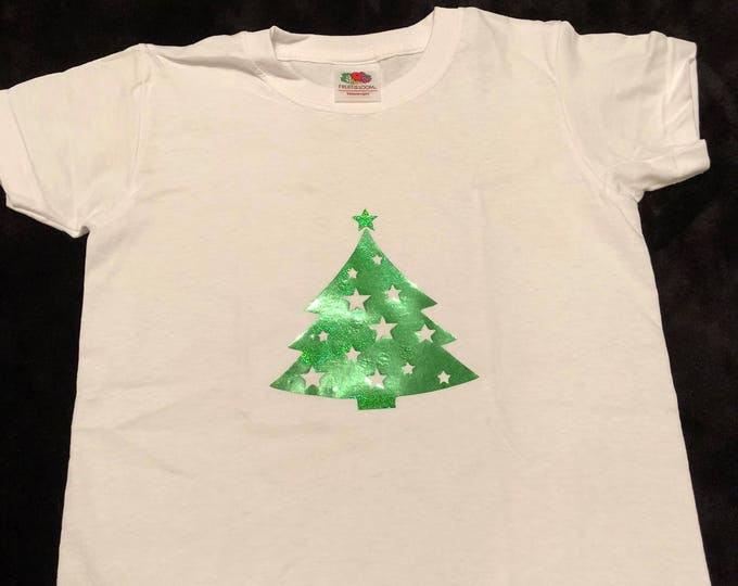Child/kid Christmas tree tshirt. Age 2-3 years