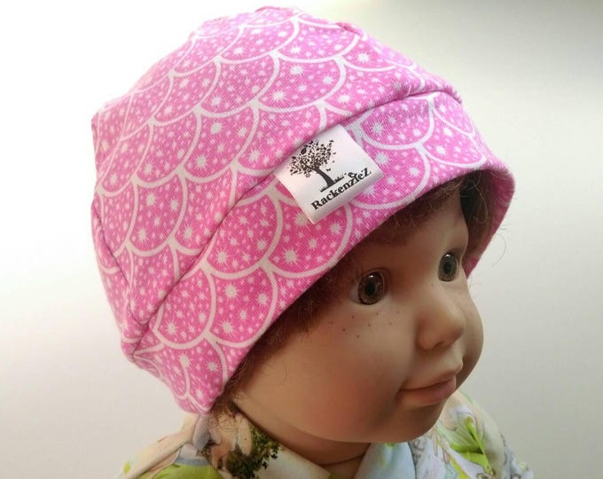 Pink Scales Hat