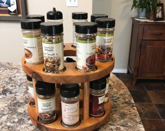 16 Decorative Spice Rack by D&C Designs