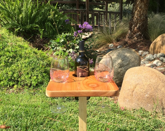 Square Wine Table by D&C Designs