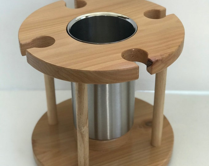 Champagne Caddy by D&C Designs