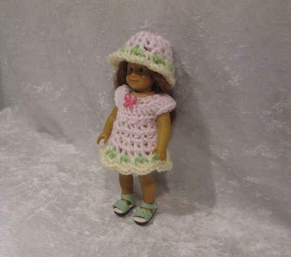 """MINI 6/"""" 6.5/"""" American Girl Doll Clothes Hats Only Lot Of 3"""