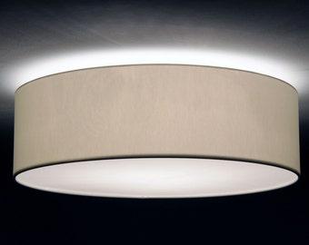 Ceiling lamp, D.40 cm, H.15 cm, individual colour
