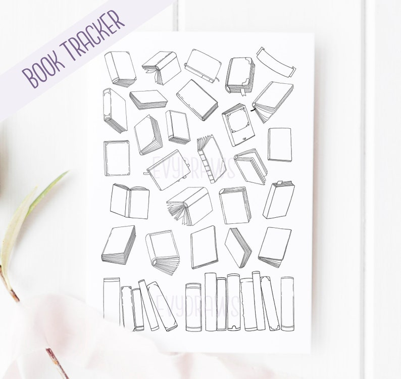 photo regarding Bullet Journal Books to Read Printable identify Reserve Examining Checklist Printable TBR Tracker Printables for Bullet Magazine, Ebook Admirers, Hand-Drawn Guides Planner Increase, A5 Journaling 2019