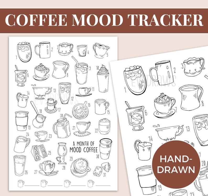 photograph about Mood Tracker Bullet Journal Printable referred to as Bullet Magazine \
