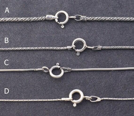 STERLING Silber Kette .925 Rollo Kette Kugel-Kette   Etsy ea02830919