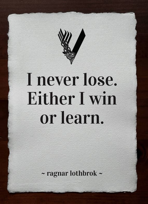 Ragnar Lothbrok Vikings Ragnar Vikings Poster Vikings Tv Etsy Simple Vikings Quote Images