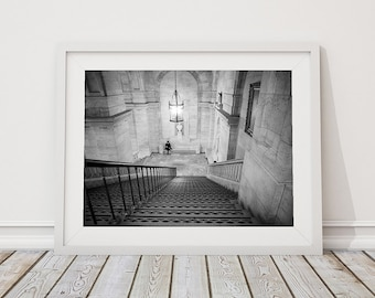 All alone in the New York Public Library | New York | USA | Travel photo art print | Melbourne photographer