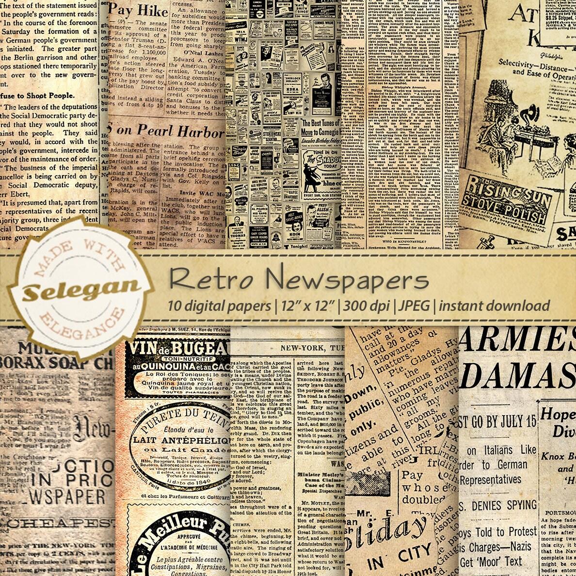 Digital Worn Linen Paper Pack INSTANT DIGITAL DOWNLOAD Aged vintage distressed linen texture paper pack scrapbooking planner stickers card
