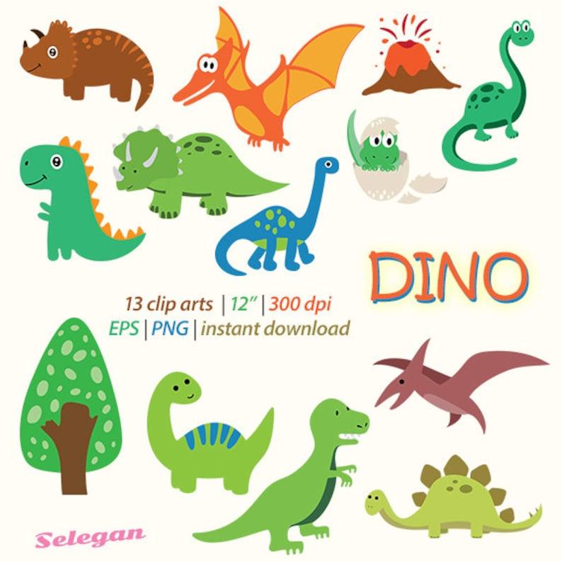 d1cf27f802d51 Dino digital clip art cute dinosaur transparent png images eps