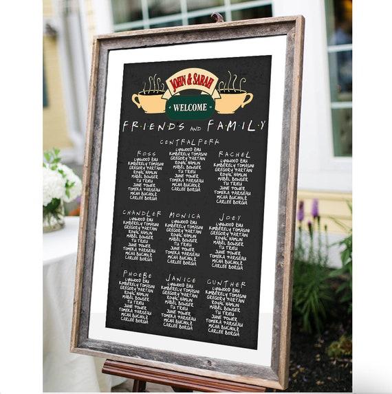 Central Perk Friends TV Show Imprimé Photo sur toile plusieurs tailles 30 mm de profondeur