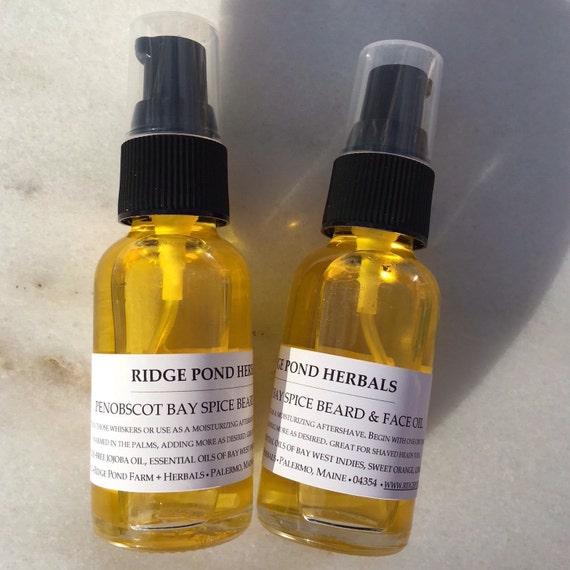 Penobscot Bay Spice Beard & Face Oil