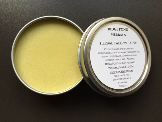 Herbal Tallow Salve
