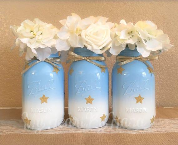 Baby-Dusche-Maurer-Gläser Twinkle Twinkle Little Star