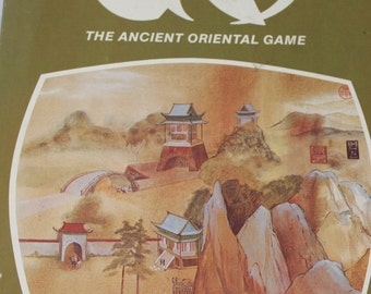 GO Board Game -- Reiss Games 1974 -- The Ancient Oriental Game -- Go / Go Moku -- Gaming, Othello, China, Japan -- 1970's