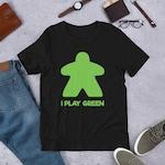 Green Meeple Short-Sleeve Unisex T-Shirt
