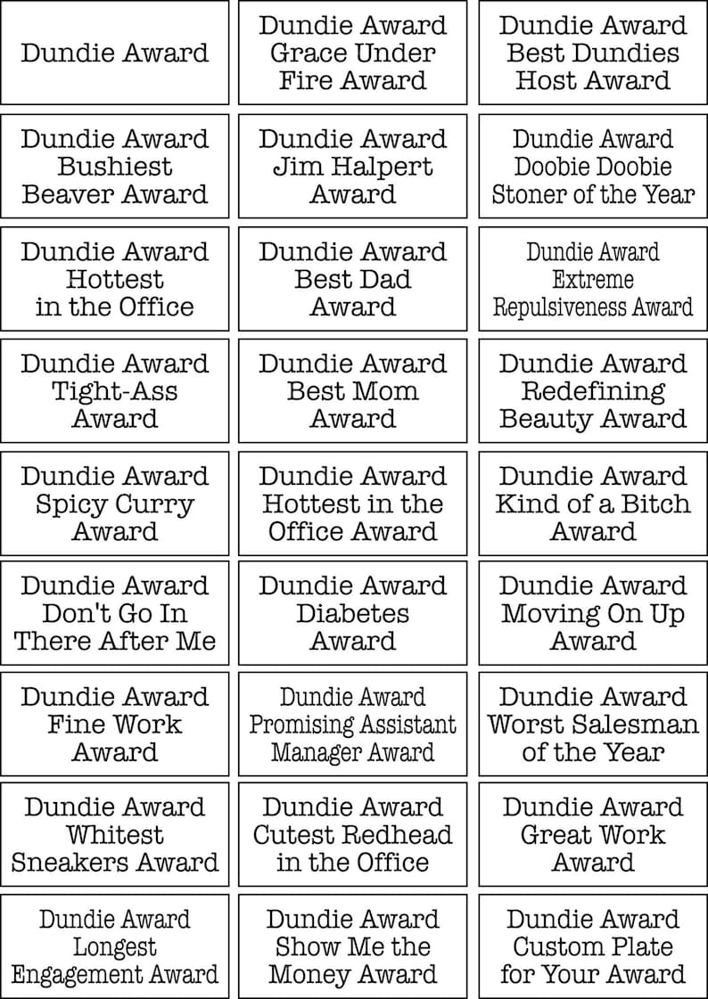Dundie Award Trophy,Michael Scott,Dunder Mifflin Paper Company Promising Assistant Manager Award,The Dundie Award,The Office TV Show