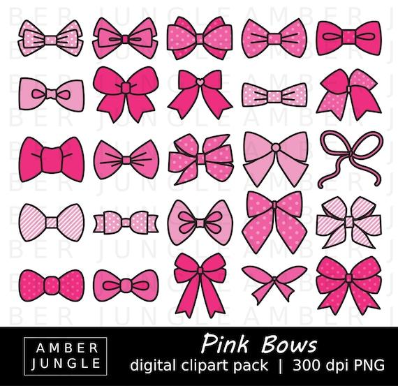 Pink Ribbon Clipart #36711 | Clip art, Feminine wall art, Bow clipart